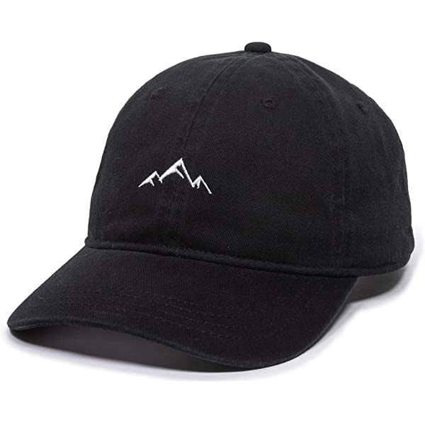 Unisex Soft Baseball Cap Adult Embroidered Dad Hat