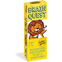 Brain Quest Kindergarten, revised 4th edition: 300 Questions and Answers to Get a Smart Start: 300 Questions and Answers…