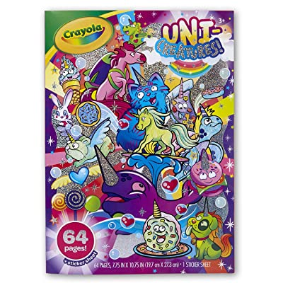 Crayola Uni-Creatures! Coloring Book: Toys & Games