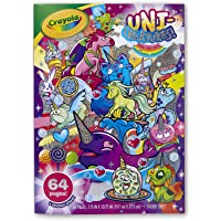 Crayola Uni-Creatures Colouring Book, 64 Magical Pages Filled with Unicorns, Donuts, Sprinkles and More, Great Girls and…