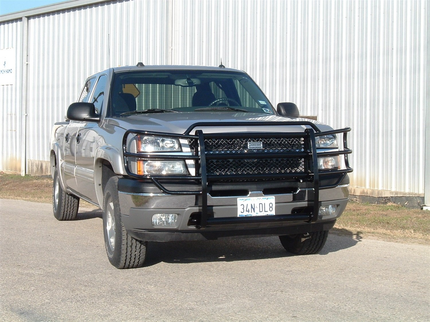 Silverado 2003 chevy silverado 1500 accessories : Amazon.com: Ranch Hand GGC06HBL1 Legend Grille Guard for Ford ...
