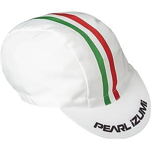 (パールイズミ)PEARL IZUMI サイクリング キャップ プリントサイクルキャップ 471[メンズ] 4 ホワイト F