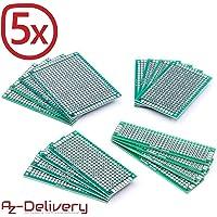 AZDelivery 5 x Set Prototipo 16 Placas Doble