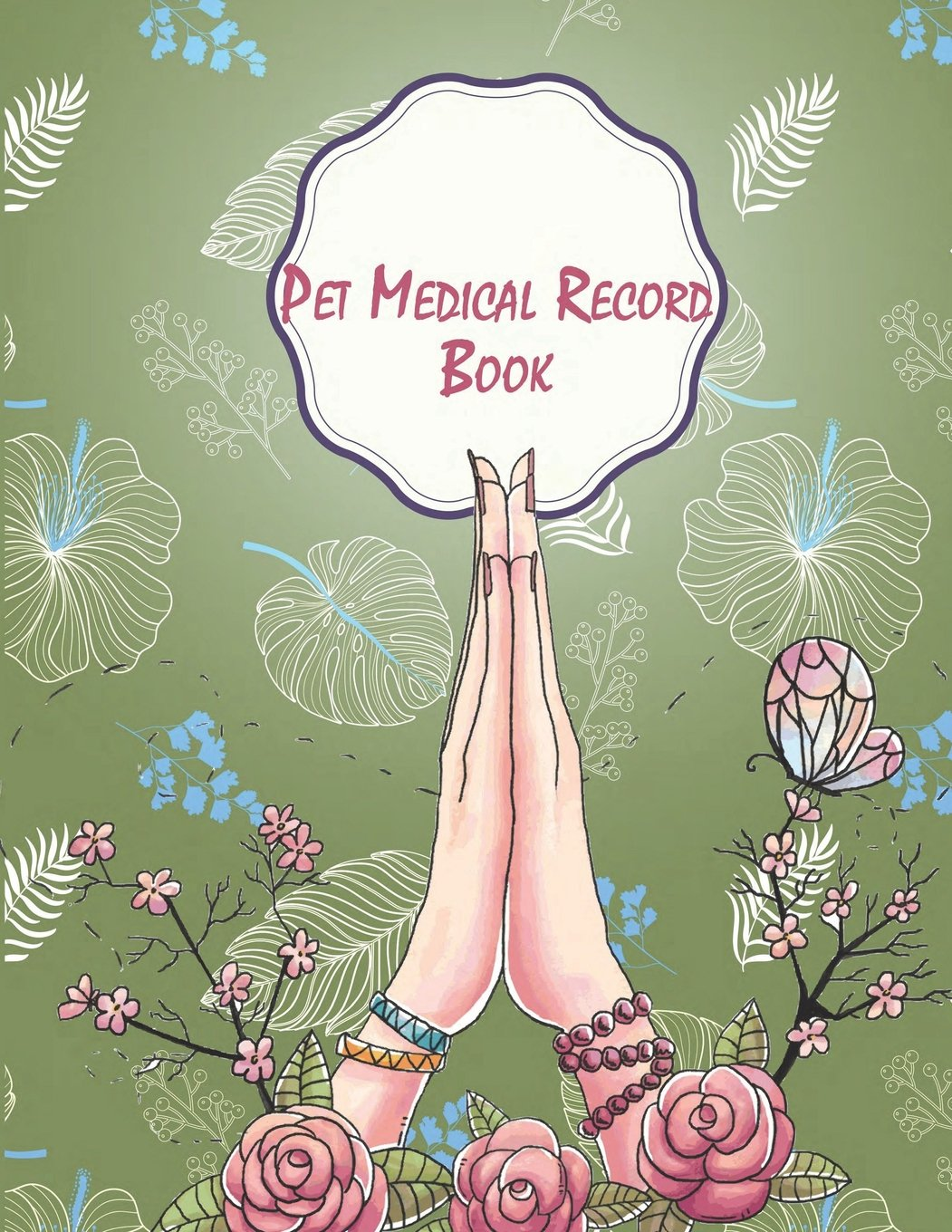 amazon pet medical record book green cover record your pet