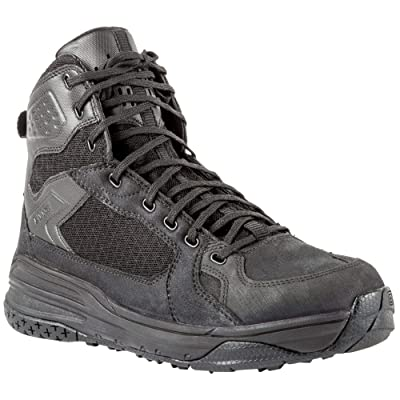5.11 Tactical Halcyon Patrol Boots, Slip/Oil-Resistant Outsole, Rapid Dry Micro Suede, Style 12363: Sports & Outdoors