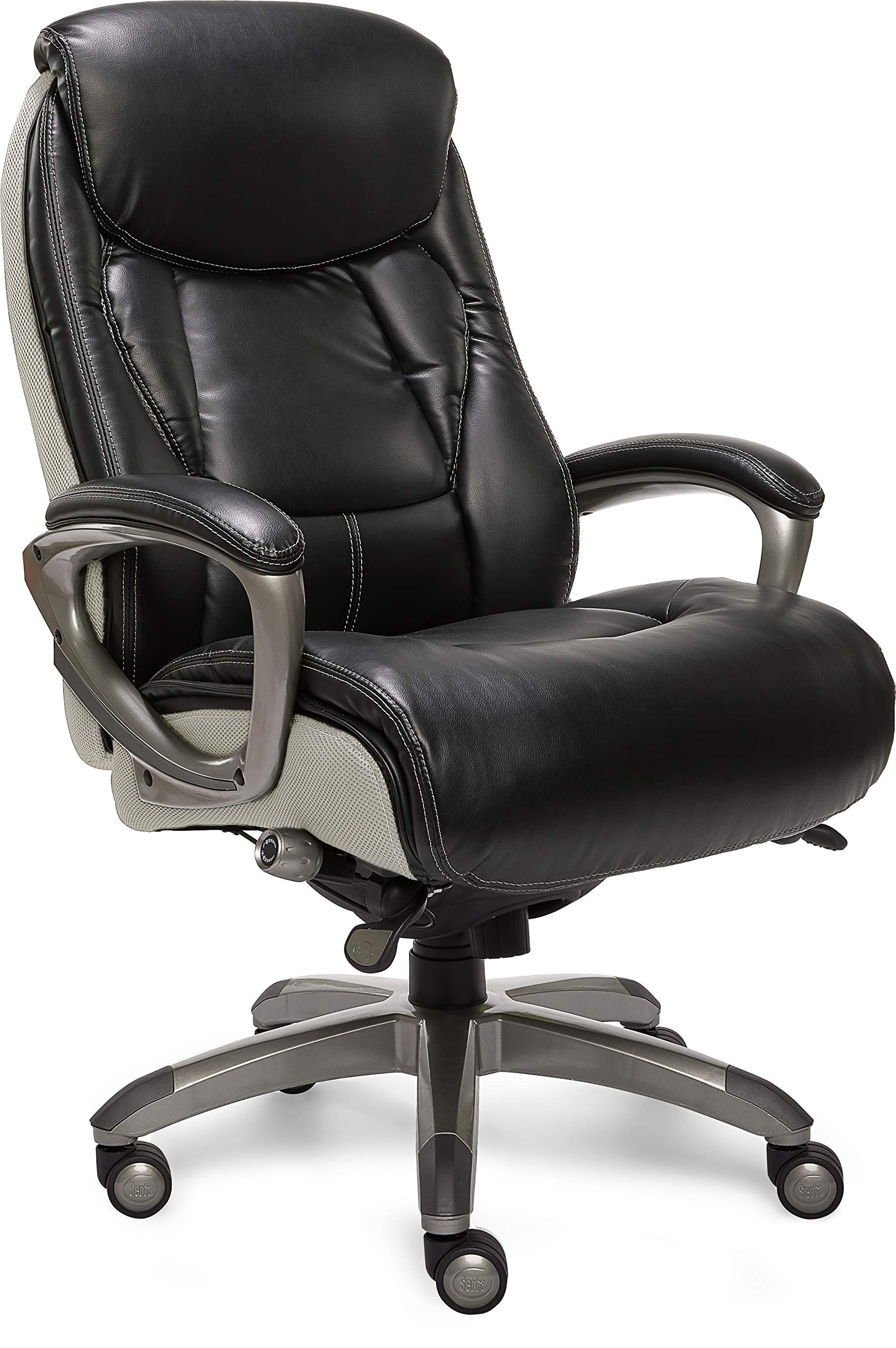 Serta 44942 Smart Layers Executive Tranquility Office Chair, Black by Serta