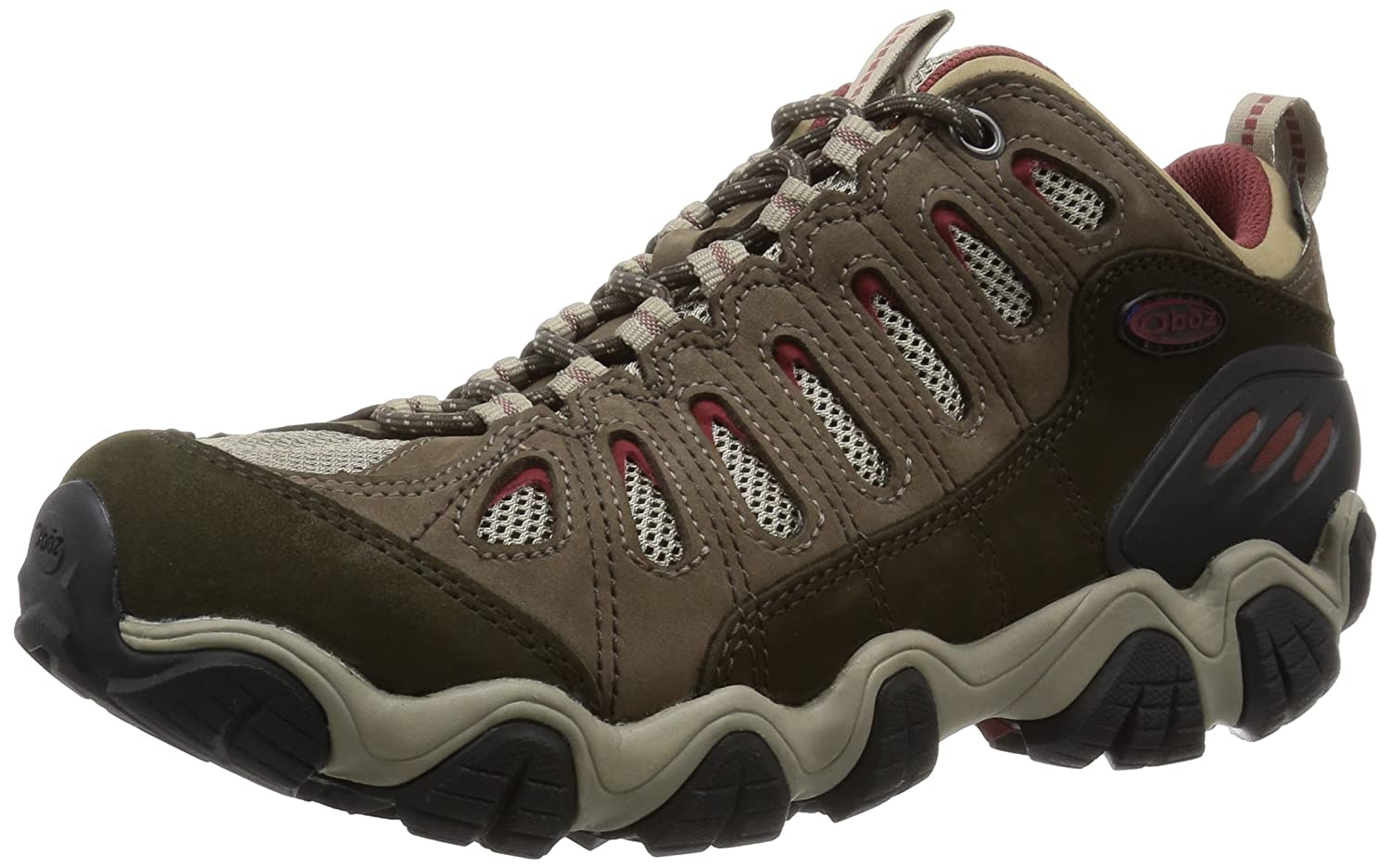 Oboz Men's Sawtooth Low Bdry Hiking Shoe B00SVYBRIG 9 D(M) US|Russet