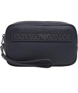 146fb01b00 Emporio Armani Y4R180 Pochette Uomo Nero PZ: Amazon.it: Valigeria