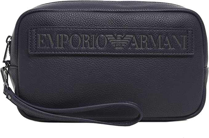 Emporio Armani neceser de viaje hombres nuevo blu: Amazon.es: Ropa y accesorios