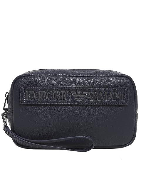 646b59137 Emporio Armani neceser de viaje hombres nuevo blu: Amazon.es: Zapatos y  complementos