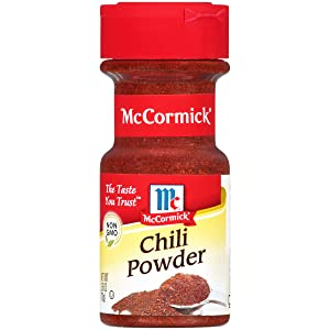 McCormick Chili Powder, 2.5 Ounce, Pack of 6