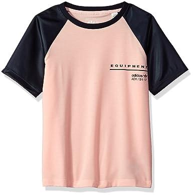 ab53ab861effb adidas Originals Girls' Big EQT Satin Tee: Amazon.in: Clothing ...