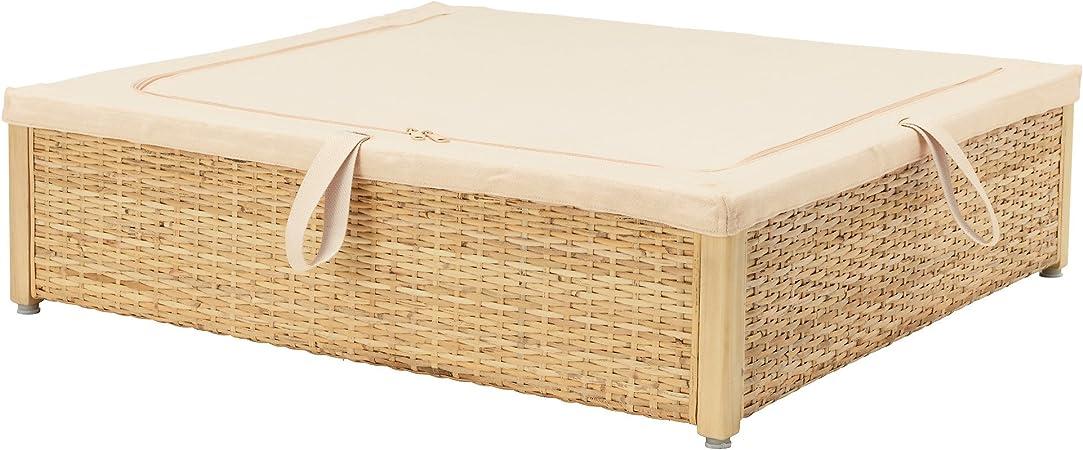 Zigzag Trading Ltd Ikea Romskog Boite De Rangement De Lit Rotin Amazon Fr Cuisine Maison