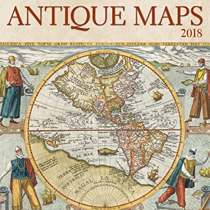 Amazon antique maps mini wall calendar 2018 office products antique maps mini wall calendar 2018 gumiabroncs