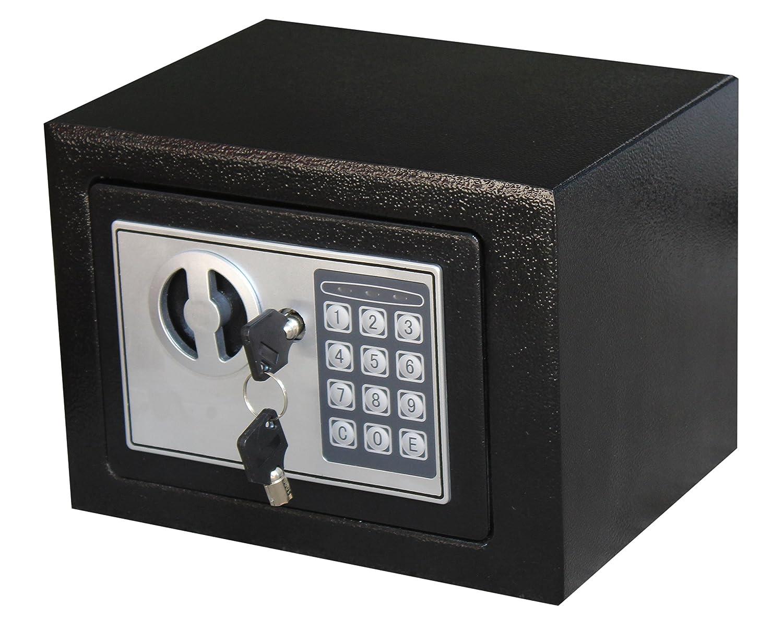 ロイヤルブランドSmallブラック正方形電子safegunお金ジュエリーパスポートホームホテルオフィス B07BR7JBXV