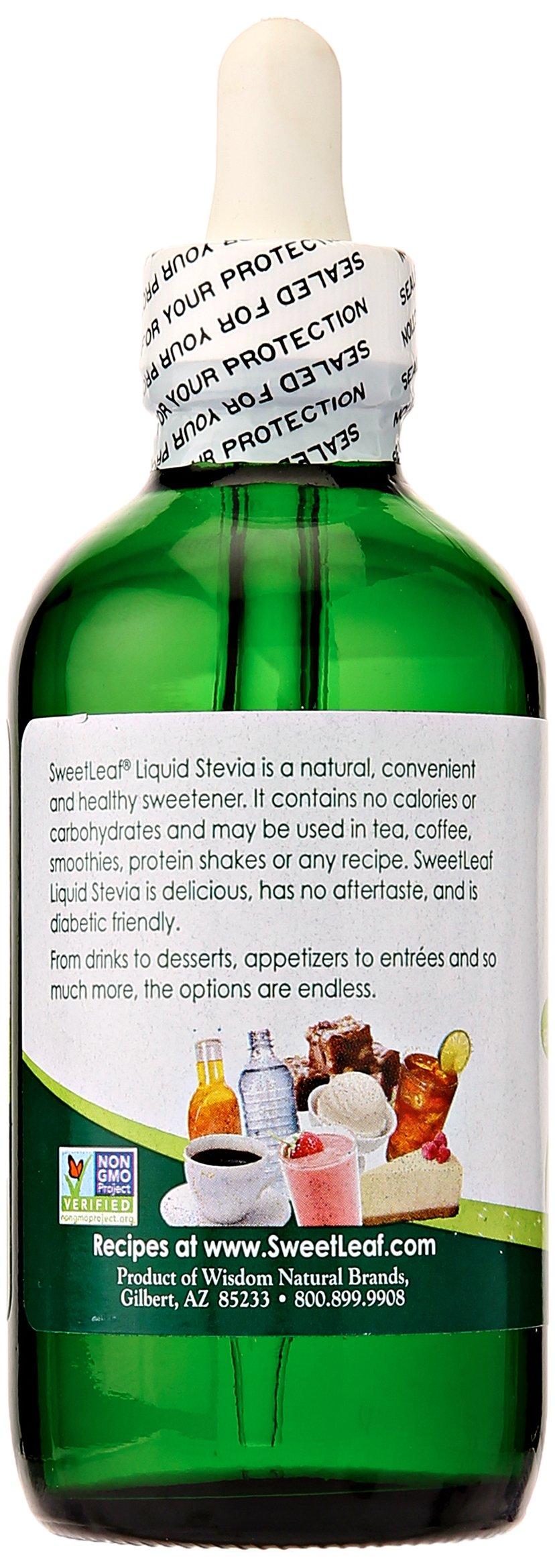Sweet Drops SweetLeaf Liquid Stevia Sweetener, SteviaClear, 4 oz by Sweet Drops (Image #2)