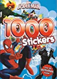 Marvel Spiderman: Colouring and Activity 1,000 Stickers Book