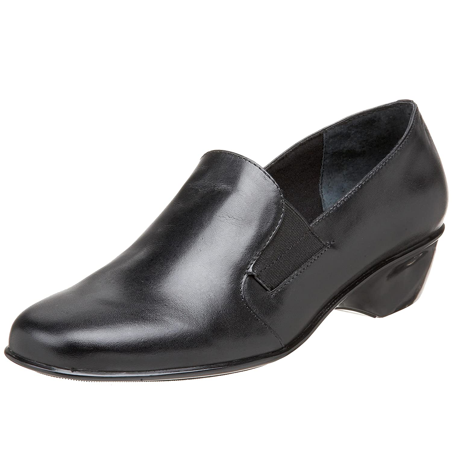 Walking Cradles Women's Teri Flat B002KAODVK 6.5 B(M) US|Black Leather