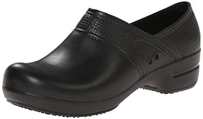 Sanita Workwear Damen Aero-Motion Clogs, Schwarz (Black 2), 36 EU