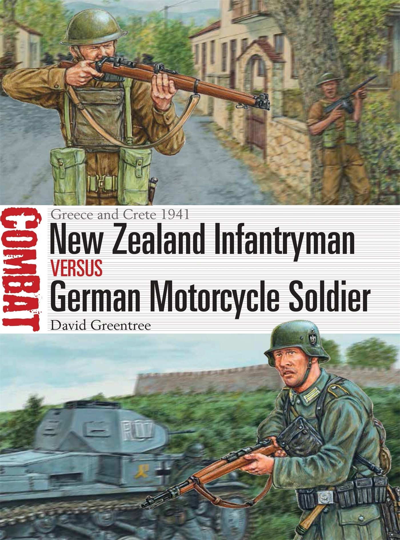 New Zealand Infantryman Vs German Motorcycle Soldier  Greece And Crete 1941  Combat Band 23