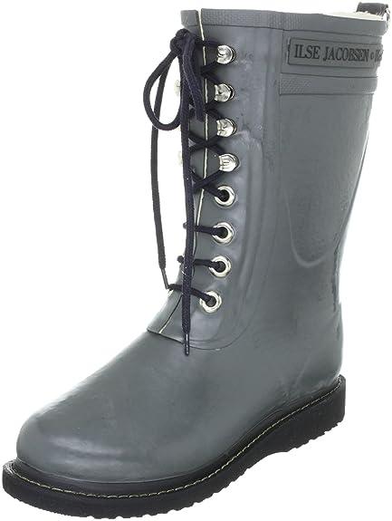Isle Jacobsen Short Rub High Heel, Womens Wellington Boots Ilse Jacobsen