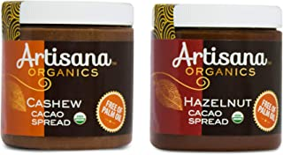 product image for Artisana Organics Cacao Spreads, Coconut Sugar Sweetened - Sampler Bundle