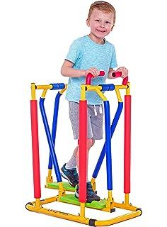 Nueva elíptica Air-Walker para niños - oscilante y llamativa que combina diversión y actividad