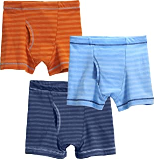 product image for City Threads Boys' Boxer Briefs Underwear 100% Cotton 3-Pack Made in The USA