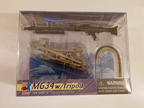 Amazon com: Dragon - New Generation - Life Action Figures MG34 w