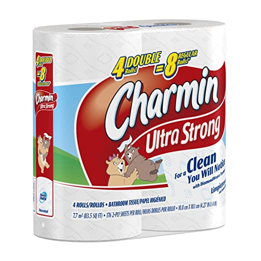 Amazon.com: Charmin Toilet Paper, Ultra Strong, 8 Mega Rolls: Health & Personal Care