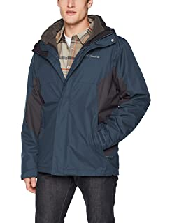 Columbia Mens Big and Tall Ten Falls Big /& Tall Interchange Jacket 1799372