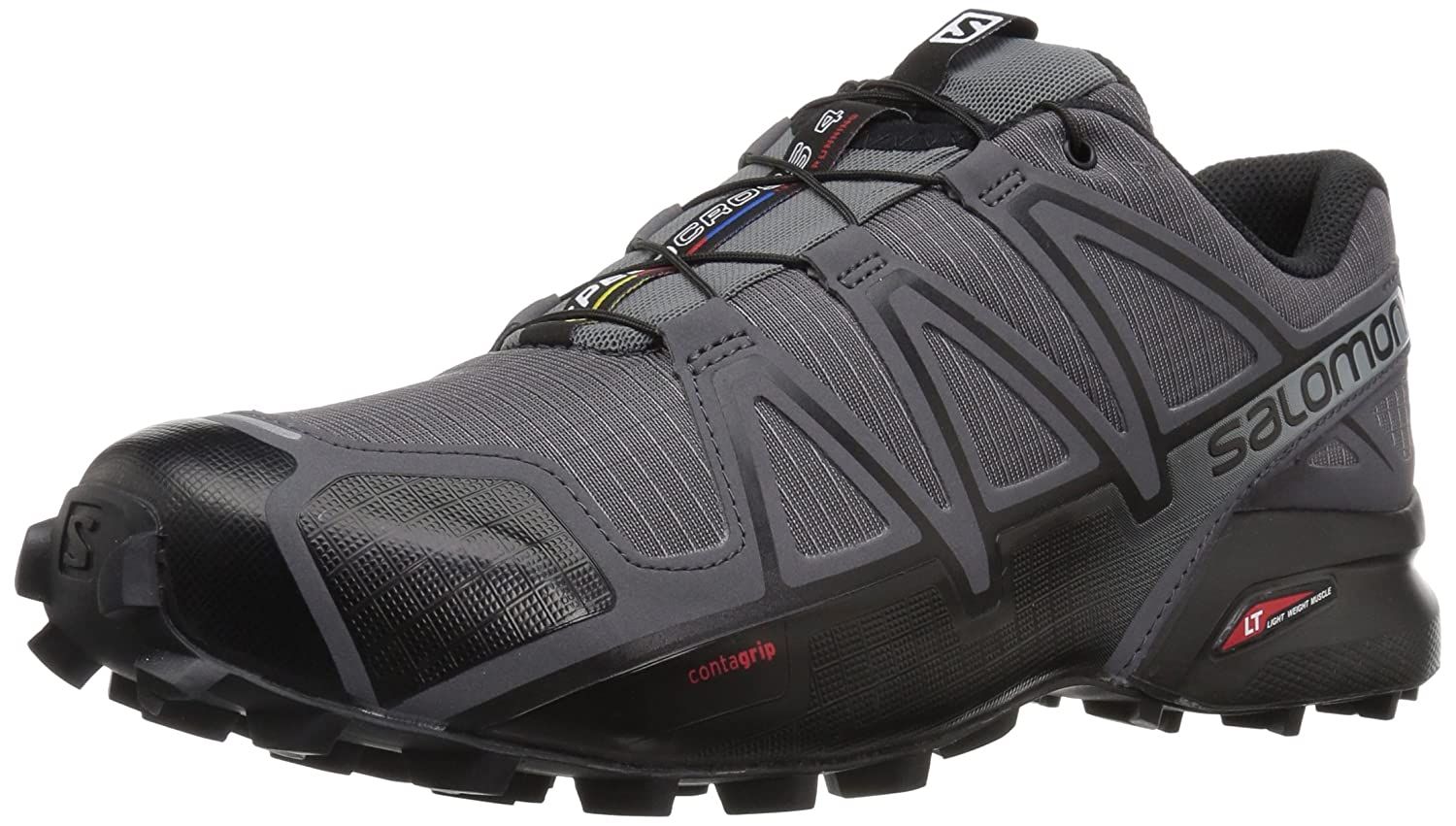 Salomon Speedcross 4 Wide, Zapatilla de Trail Running para Hombre