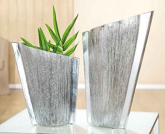 Ovale per piante vaso in platino laccato in europeo a mano: amazon