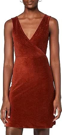 Marca Amazon - find. Vestido Corto Evasé Mujer