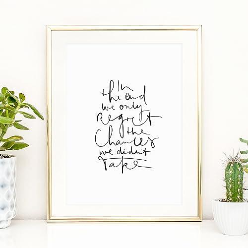 Kunstdruck: Home Ohne Rahmen Hochwertiges und festes Premiumpapier Spr/üche Poster