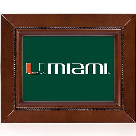 Marco de madera NCAA Collegiate equipo 8 x 10 Musical tablero de ...