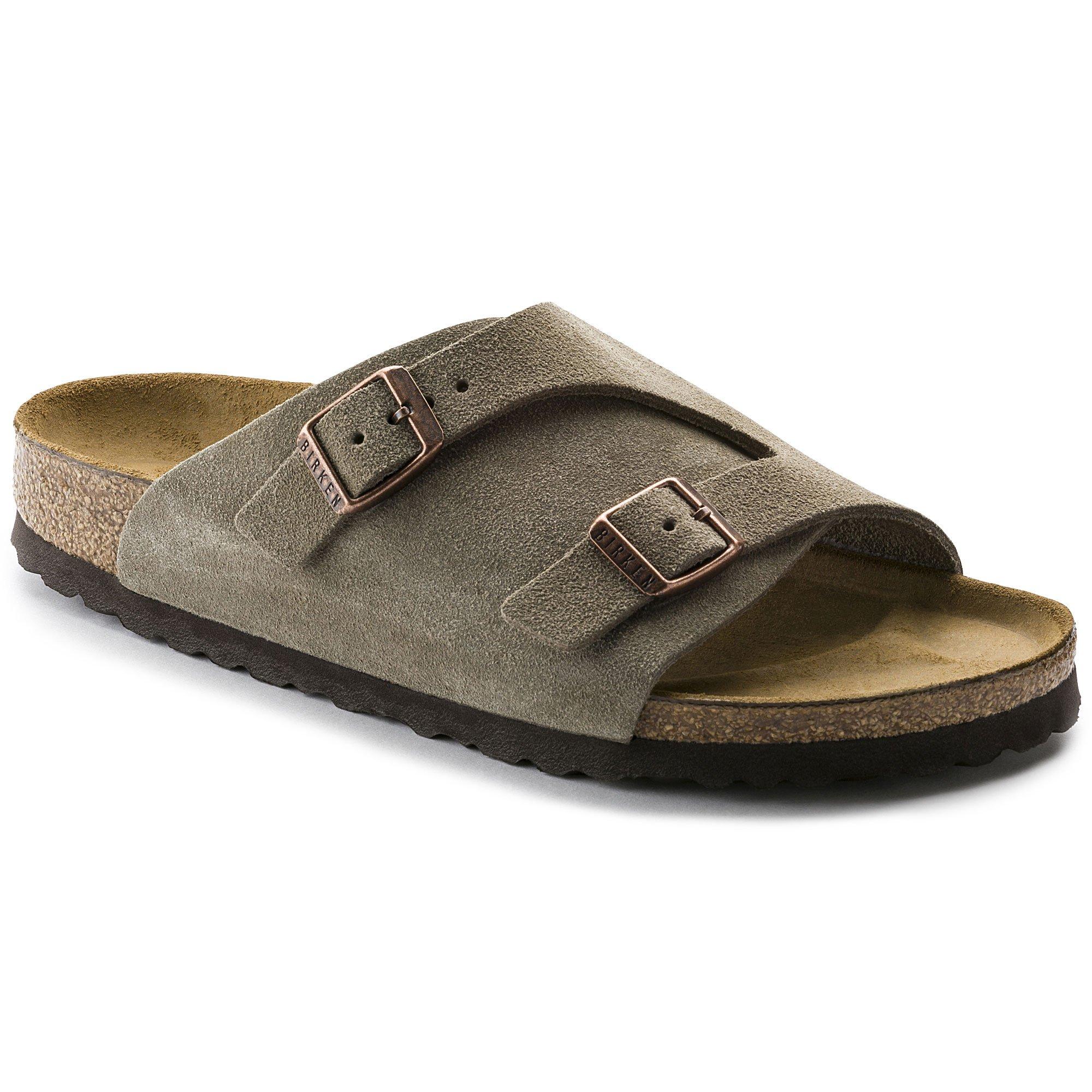Birkenstock Zurich Sandal Taupe Suede Size 40 by Birkenstock
