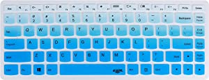 Leze - Ultra Thin Silicone Laptop Keyboard Cover Skin Protector for Lenovo G40-70,B40-80,Y40,Y40-80,IdeaPad 100S 14
