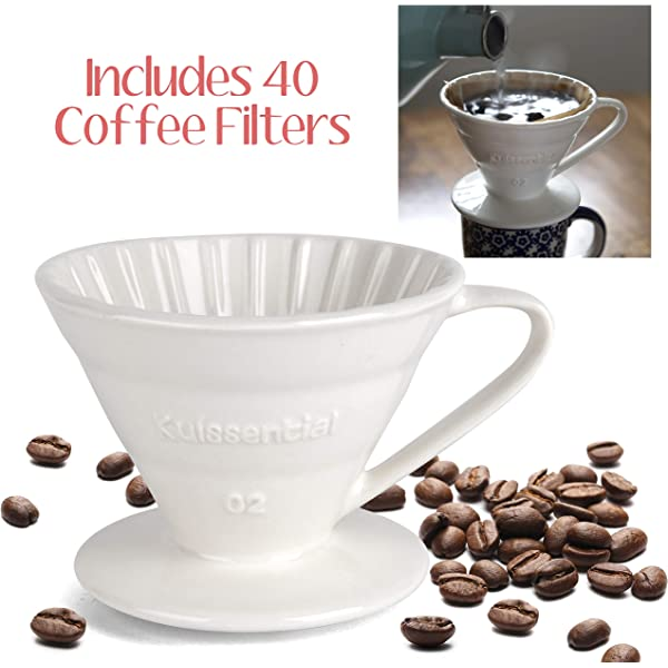 Cafe Easy Manual Brew Maker Gift Restaurants Red Ceramic Slow ...