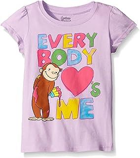 5c43259895a749 Amazon.com: Curious George Boys' Short Sleeve T-Shirt: Fashion T ...