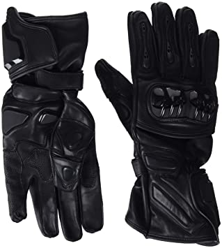 Bikers Gear Australia Vector Sports Pro Series Motorcycle Leather Gloves  with Hard Knuckle and Kevlar Protection d5a5c4d55