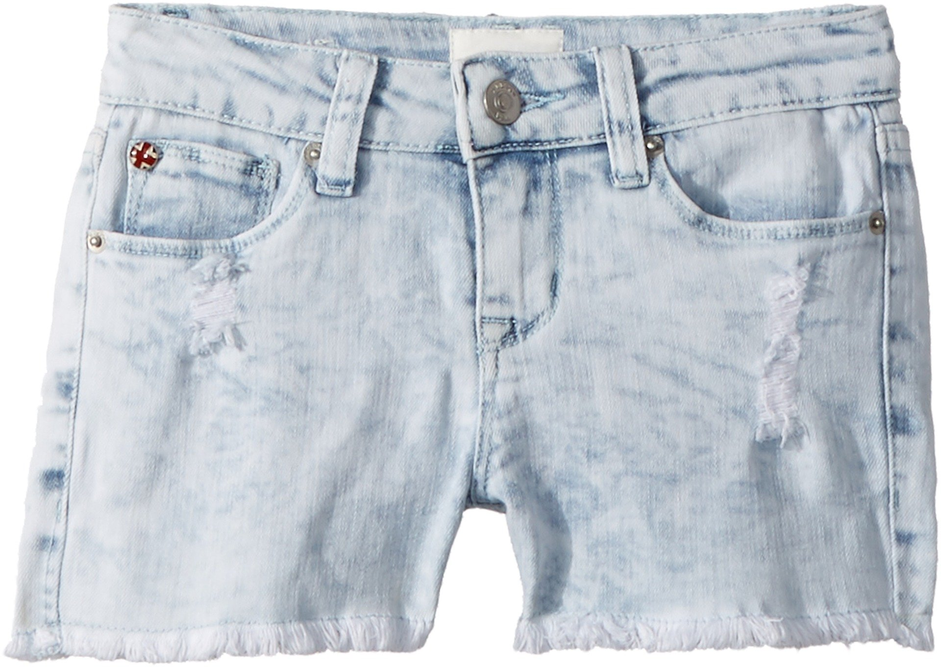 Hudson Kids Girl's Free Love Shorts (Big Kids) Bleach 16