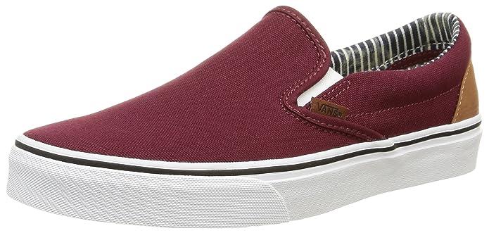 Vans Classic Slip Schuhe Unisex Damen Herren Erwachsene Rot (Port Royale)