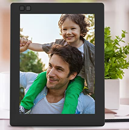 amazoncom nixplay seed 10 wifi digital photo frame black camera photo