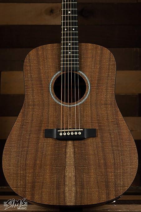 Martin D-X1E Koa Guitarra acústica eléctrica: Amazon.es ...