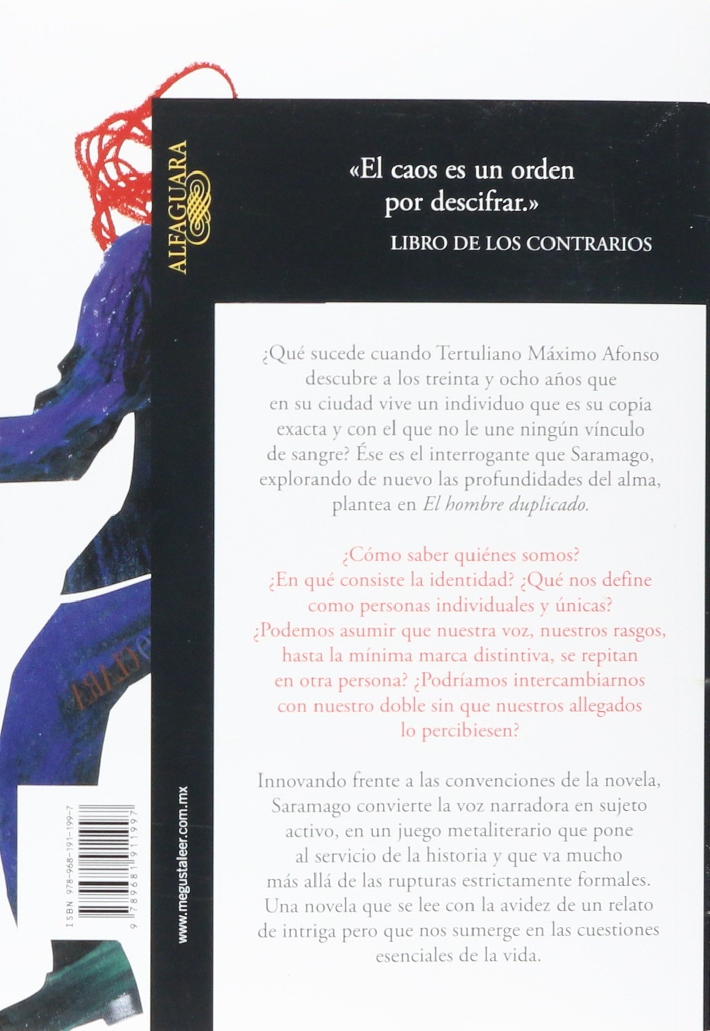 El Hombre Duplicado (Spanish Edition): Jose Saramago, Pilar del Rio: 9789681911997: Amazon.com: Books