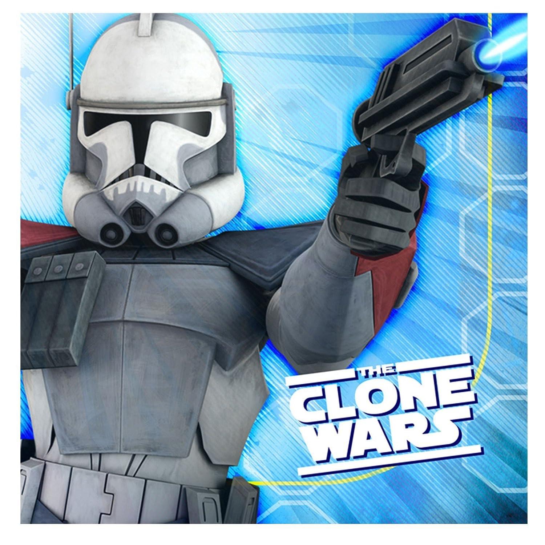 Star Wars Clone Wars Opposing Forces Large Napkins 16ct