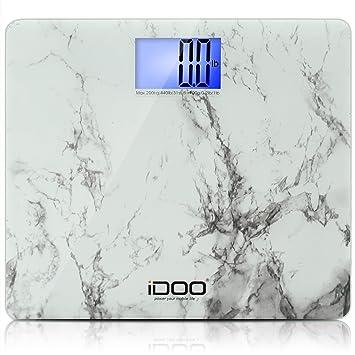 Amazoncom IDOO Digital Bathroom Scale Ultra Wide Heavy Duty - Large display digital bathroom scales
