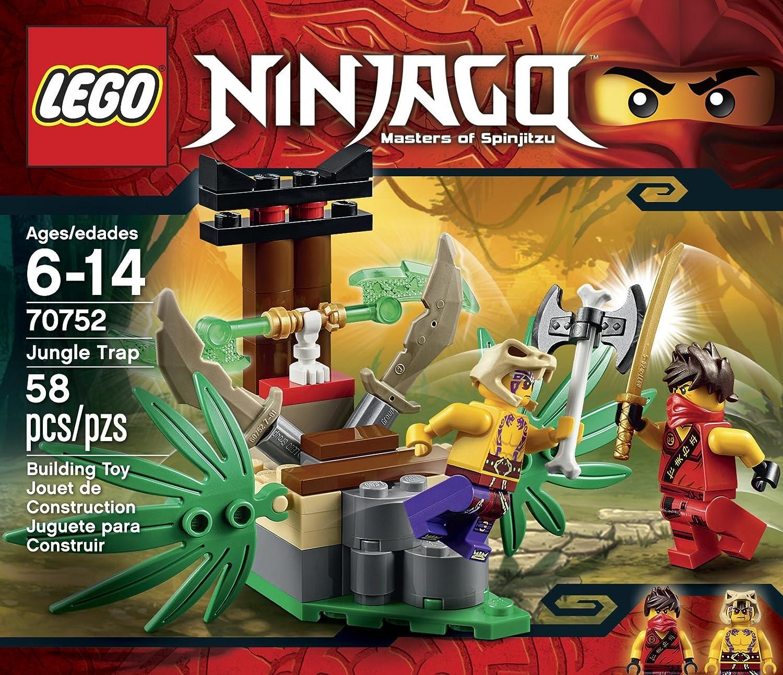 Amazon.com: LEGO Ninjago, Trampa de la selva: Toys & Games