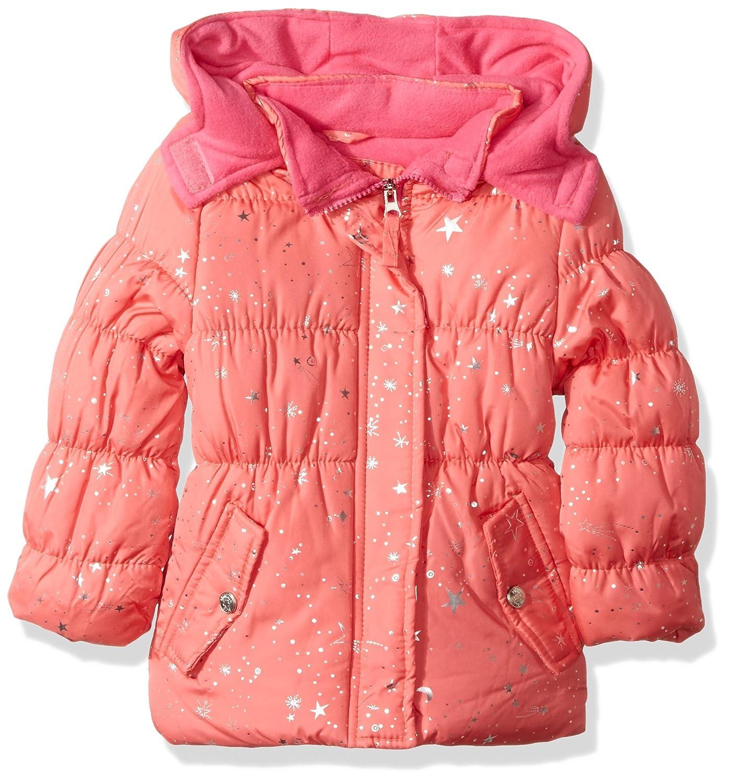 Pink Platinum Girls Super Star Foil Puffer 94508